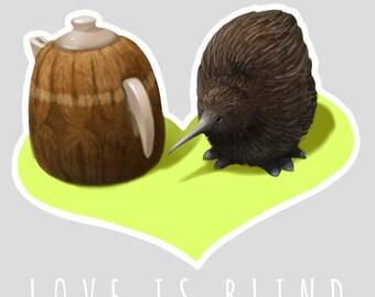 Kiwi Love is Blind