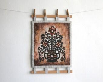 Scandinavian Rose Tapestry