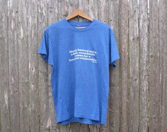 Vintage Moody Bastard T-Shirt Mens Medium