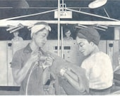 RESERVED FOR BRITTANY - Black Rosie the Riveter -  Pencil Drawing - Women At Work 8.5 x 11 Print