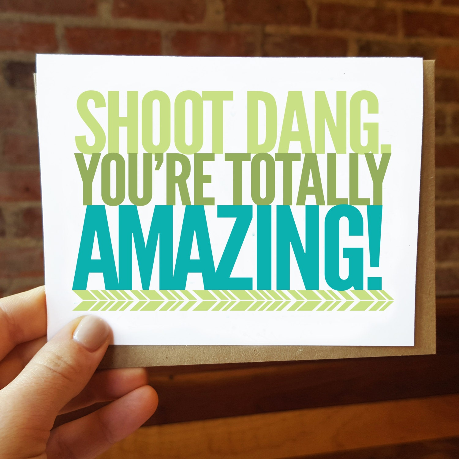 funny love card just because shoot dang you're Funny Late Wedding Thank You Cards Funny Late Wedding Thank You Cards #4 funny late wedding thank you cards