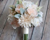 Rustic Wedding Bouquet, Silk Bouquet, Rustic Bride, Rustic Bouquet, Wedding Bouquet, Silk Bouquet, Bridal Bouquet