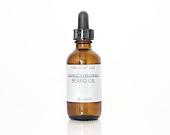 Nordic Evergreen Beard Oil | 100% natural and vegan beard oil | Men's Grooming