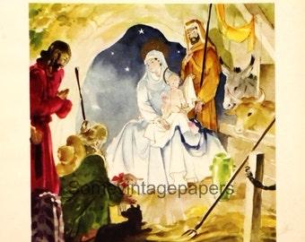 Antique Christmas 2 beautiful digital illustrations