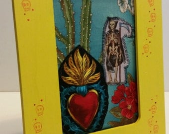Fabric shrine Day of the dead alter nicho