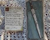 Aragorn's Sword Bookmarks Set of Two Lord of the Rings Art  Original Handillustrated