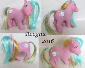 Custom Rehair Vintage G1 My Little Pony Crunch Berry Sundae Best