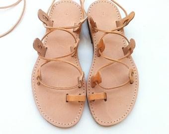 sandals, leather sandals, gladiator sandals, Lace up sandals, Tie Up Gladiator, GLADIATOR