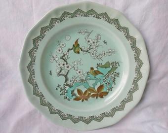 "Vintage ADAMS Calyx Ware CHUSAN 10.25"" Dinner Plate"