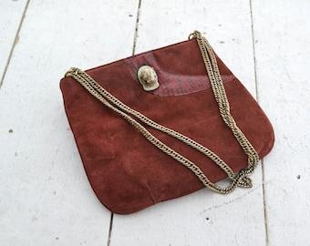 1970s Ruth Saltz Suede Handbag