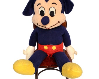 Huge Mickey Mouse Vintage Walt Disney Stuffed Animal California Stuffed Toy Co.