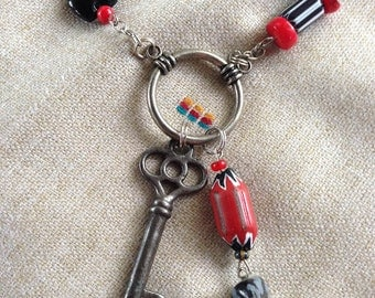 KEY of LUCK necklace