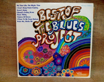 The BLUES PROJECT - Best of the Blues Project - 1973 Vintage Vinyl Record Album