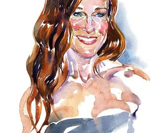 Sarah, limited edition fine art (giclée) print, 12 x 16 inches( 30.5 x 40.5 cm.)