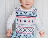 Pocketful of Posies Dress & Tunic PDF Pattern: Girls Dress Pattern, Girls Tunic Pattern