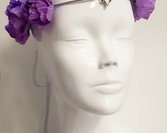 romantic floral crown