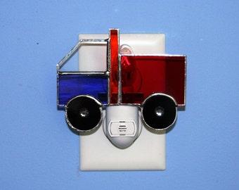 Little Red Blue Truck Light Sensor Night Light Kids' Room Nursery Baby Gift Shower Gift Birthday