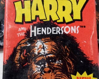 Harry and the Hendersons Trading Cards
