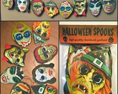 Halloween Spooks Garland Mask Banner
