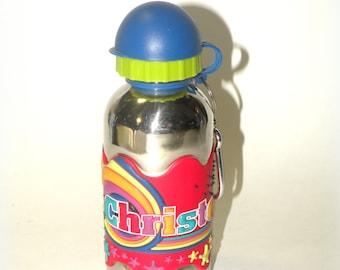 Christopher Water Bottle- Stainless Steel- ECO-FRIENDLY Sports Baseball Soccer Football