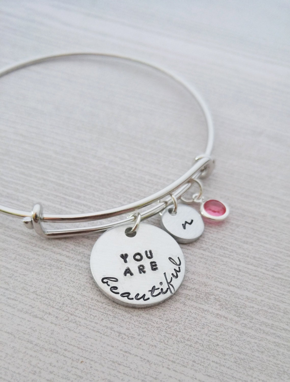 You are Beautiful Bracelet Inspirational Jewelry