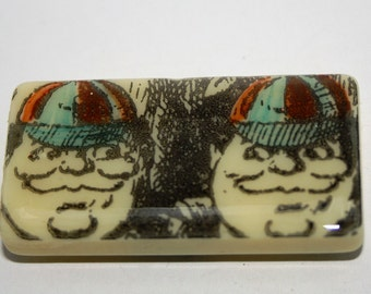Alice In Wonderland Fridge Magnet - TweedleDee and TweedleDum