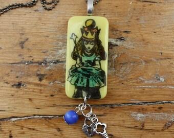 Alice In Wonderland Pendant, Necklace