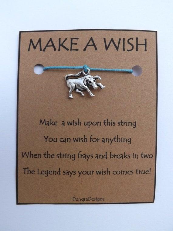 Bull Toro Wish String