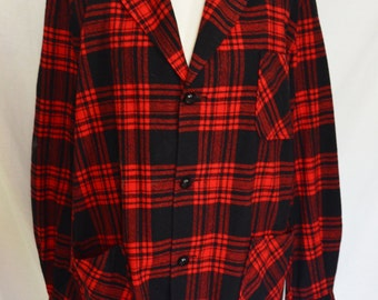 Pendleton Plaid Jacket