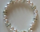 Mother of the bride or mother of the groom bracelet is a perfect wedding day gift, mothers gifts