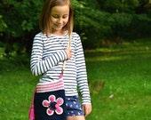 Crochet pattern - Flower bag by VendulkaM - crochet bag pattern, digital, DIY, pdf