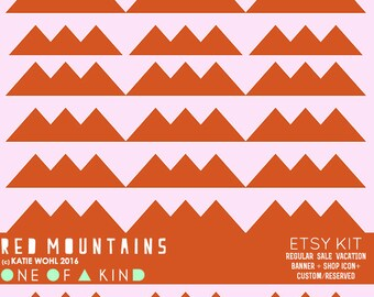 Red Mountains - ETSY KIT