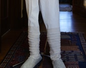 CUSTOM for DAN Luke Skywalker A New Hope tan shoes and leg wraps costume accessory down payment to begin work