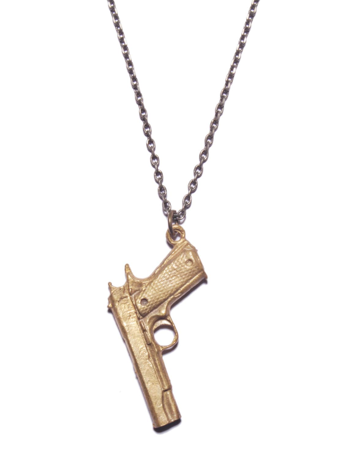 s gun necklace jewelry for 45 caliber style