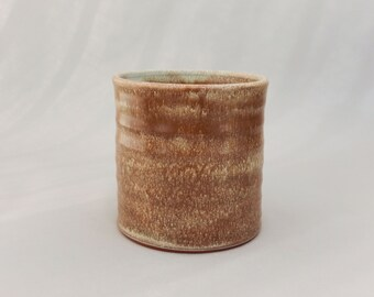 Pottery Utensil Holder - Kitchen Caddy - Rustic Pottery