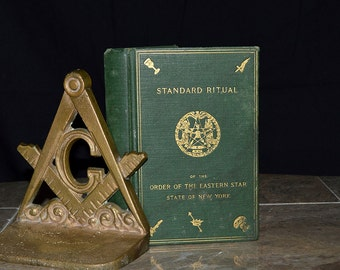 1916 Standard Ritual of the Order of the Eastern Star - New York - Female Freemasons - Ceremonies / Initiation / Symbols / Funerals - 1910's