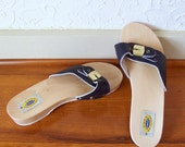 The Original Dr Scholl's Sandals size 9 in Navy Blue