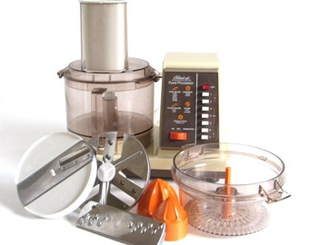 Sears Counter Craft Food Processor with Juicer Attachment, model 400.826006 Made in USA (S-blade not included)