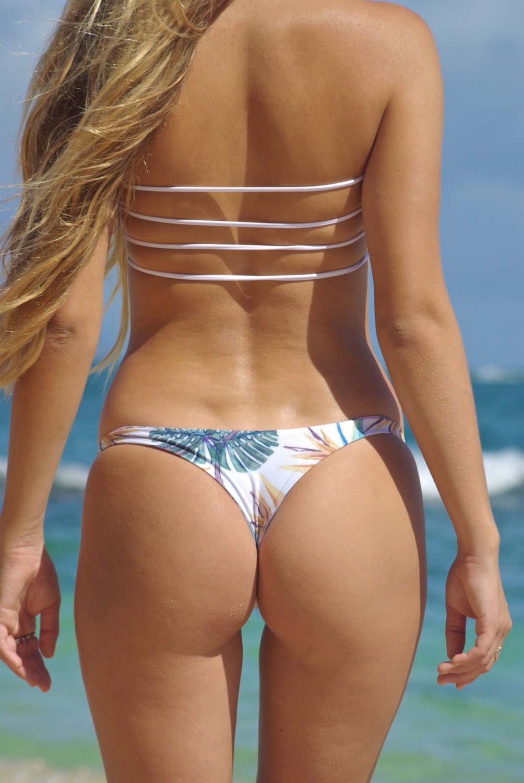 Girl bikini thong young