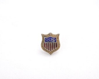 Vintage 1932 Los Angeles Summer Olympics Souvenir Pin - Miniature Pin from 10th Olympiad