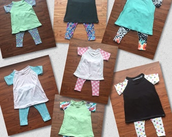 Raglan Dress & Legging Set 3-6 Months