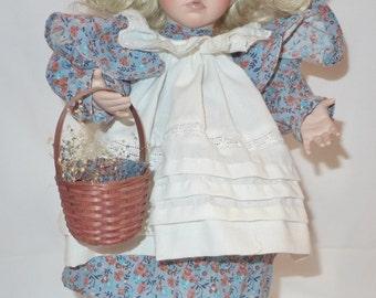 Ashton Drake Porcelain Doll Hilary #2569-A by Dianna Effner 1995