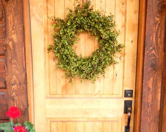 Christmas Wreath--Eucalyptus Wreath-Outdoor Wreath-Farmhouse Wreath-Fall Door Wreath-Holiday Wreath-Outdoor Wreath-Year Round Wreath-Gifts