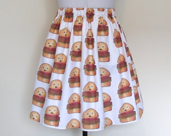 Kawaii Hamburger Skirt