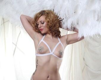 Feather Fan RENTAL Burlesque Prop