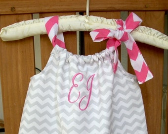 Baby girl personalized clothing monogrammed dress