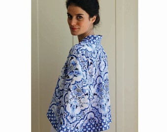 Kimono Jacket Sewing Pattern - PDF
