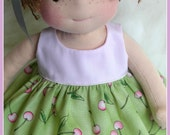 13.5 in Waldorf Inspired Doll by Jemilynndolls Ready To Ship