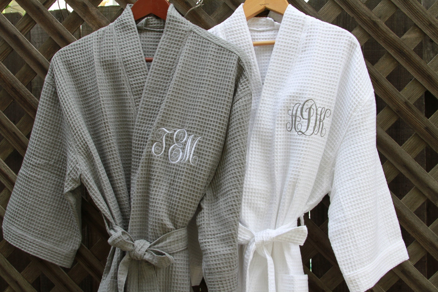 MONOGRAMMED Robes Bath Robes BRIDAL Party Robes Wedding