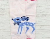 baby girl legwarmers pink reindeer leg warmers knit lace trim legwarmers photo prop baby legwarmers boot cuffs